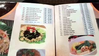 Menu Di Ayam Dan Ikan Goreng Cianjur Tang City Mall