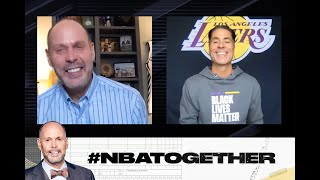 Lakers GM Rob Pelinka Reflects on His Connection with Kobe on#NBATogether| NBA on TNT