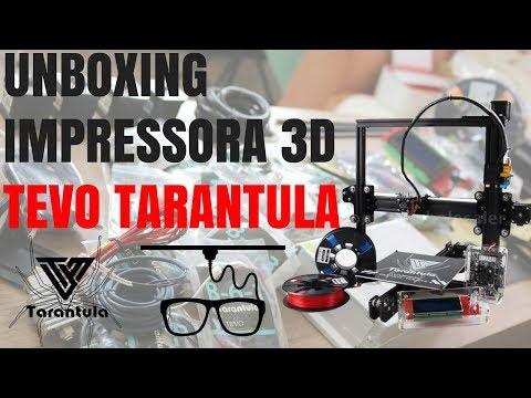 Unboxing Impressora 3D - Tevo Tarantula