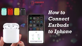 How to connect i18 Wireless Bluetooth Earbuds to Apple iPhone