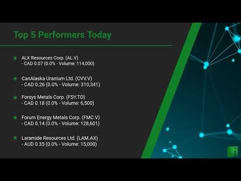 InvestorChannel's Uranium Watchlist Update for Monday, Sep ... Thumbnail