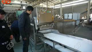 whole garlic peeling production line whole bulb garlic peeling machine with high quality