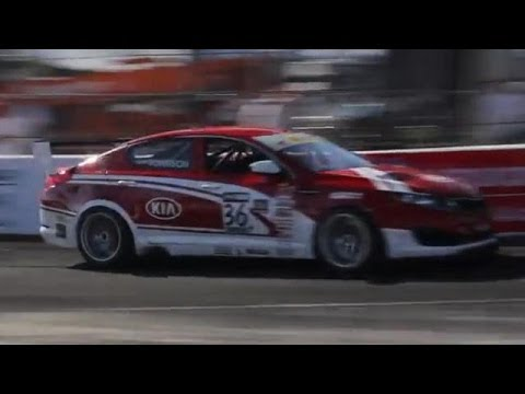 Kia Racing Optima Turbo World Challenge Race Car @ Long Beach Grand Prix