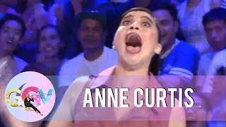 Anne Curtis screams as Vice Ganda scared her with some pranks.  Subscribe to the ABS-CBN Entertainment channel! - http://bit.ly/ABSCBNOnline  Watch the full episodes of Gandang Gabi Vice on TFC.TV   http://bit.ly/GGV-TFCTV  Visit our official website!  http://entertainment.abs-cbn.com http://www.push.com.ph  Facebook: http://www.facebook.com/ABSCBNnetwork  Twitter:  https://twitter.com/ABSCBN https://twitter.com/abscbndotcom Instagram: http://instagram.com/abscbnonline  #FantasticKaGGV #GandangGabiVice #GGV