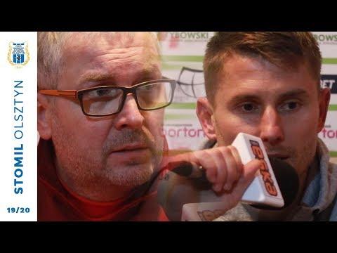 Konferencja prasowa po meczu GKS Wikielec - Stomil Olsztyn
