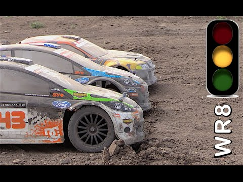 RC CWR HPI WR8 X 3 Rally Time, Lets Race