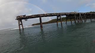 DJI FPV Catherine Hill Bay Jetty 4K
