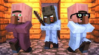 Granny vs Villager Life 7 - Alien Being Minecraft Animation & Monster School