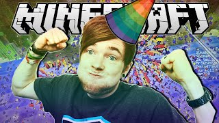 Minecraft | LETS START A PARTY!! | Party Games Minigame