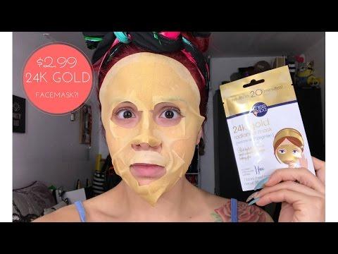 Facial mask pagkatapos ng panganganak