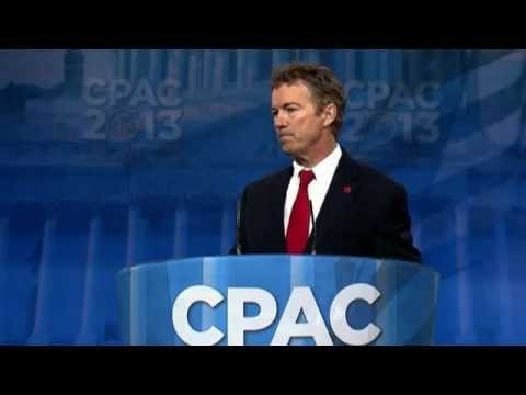 Rand Paul Full Speech at CPAC (jokes abound)