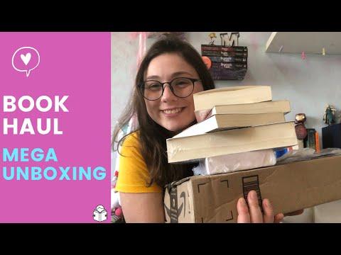 BOOK HAUL - MEGA UNBOXING