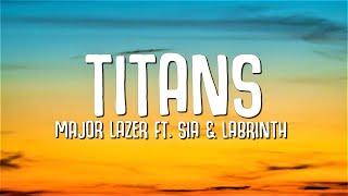 Kadr z teledysku Titans tekst piosenki Major Lazer feat. Sia & Labrinth