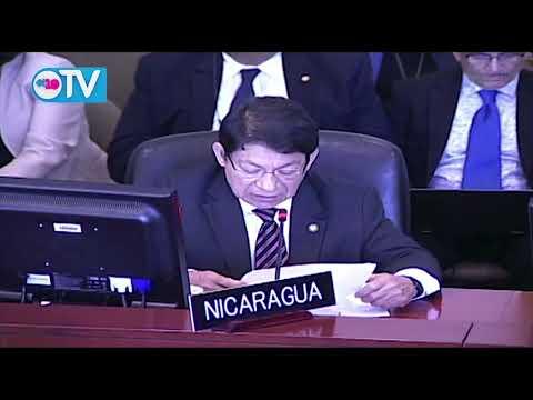 Nicaragua no admitirá a Grupo de Trabajo de la OEA