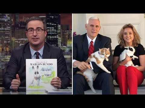 John Oliver Copies & Sullies Mike Pence's Daughter's Book, She Responds With Grace (REACTION)
