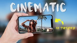iPhone CINEMATIC VIDEO tutorial  | HOW to make iPhone 11 footage look cinematic