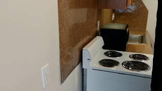 Formica kitchen back splash - installation lessons learned