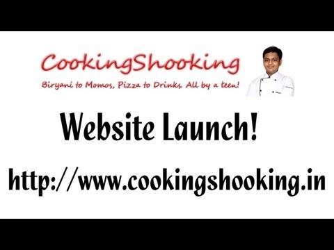 Website Launch – www.CookingShooking.in