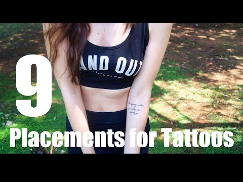 Video 9 Placement Ideas For Tattoos