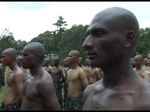Seram ,,,,,, Pedidikan dan latihan calon prajurit angkatan darat ini