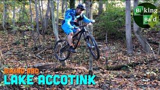 Biking Bad - Lake Accotink + jumps & bunny hops practice