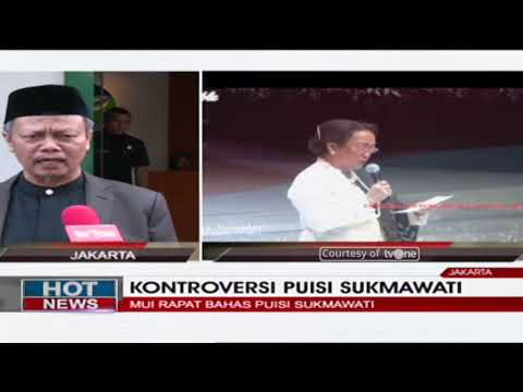 Tanggapan MUI Atas Puisi Sukmawati Soekarnoputri