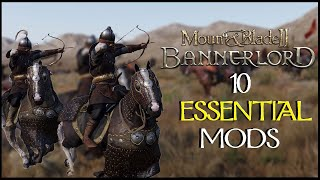 10 ESSENTIAL Mount and Blade 2 Mods