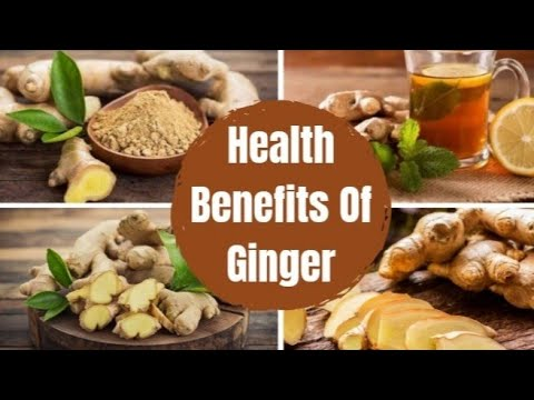 11 Amazing Health Benefits of Ginger || Eat Ginger everyday and see what happen?