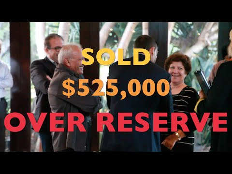 Double Bay Auction Video for David Malouf