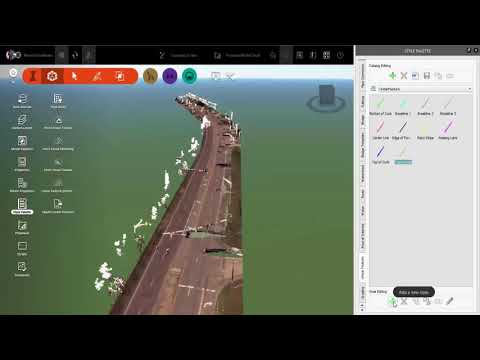 What's New in InfraWorks (2018.1) – Extract Linear Features from Point Clouds