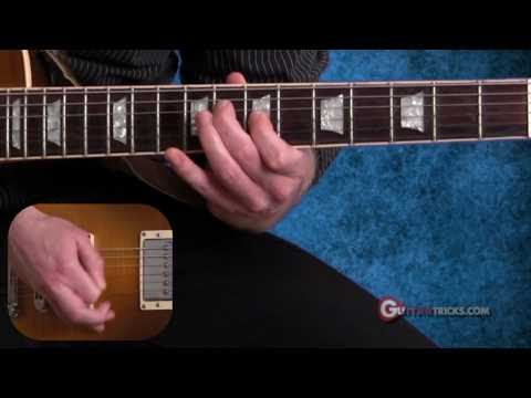 Sweep Picking Lesson  - Easy Guitar Lesson - Guitar Tricks 74