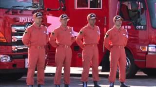 横浜消防出初式2016 オープニング・セレモニー
