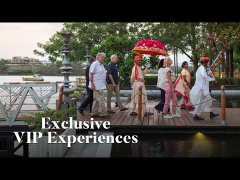 Elderly tour group in India