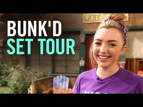 Peyton List Gives a Tour of BUNK'D | Disney Style