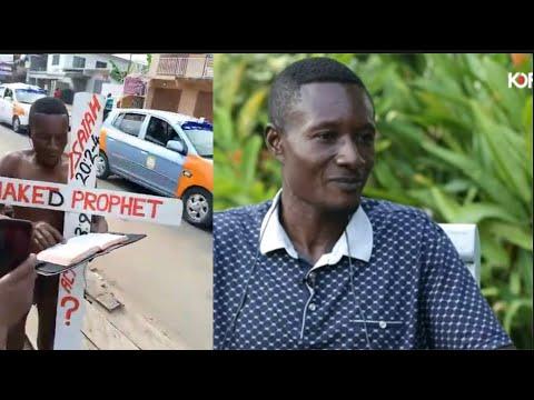 The Trending Nake.d Prophet Live On Kofi Tv
