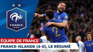 France-Islande (4-0), Le Résumé, Équipe De France I FFF 2019