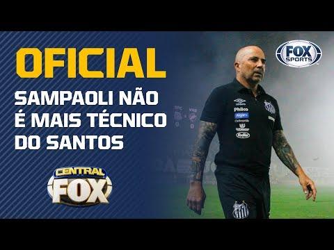 OFICIAL: SAMPAOLI NÃO É MAIS O TÉCNICO DO SANTOS, QUE AGRADECE: