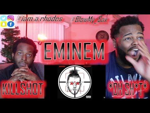 EMINEM KILLSHOT [Official Audio]  MGK DISS!!! * LIT REACTION* | YBC ENT. (видео)