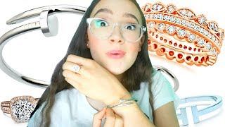 I Tried Fake Tiffany & Cartier Jewelry That Looks Real? FionaFrills