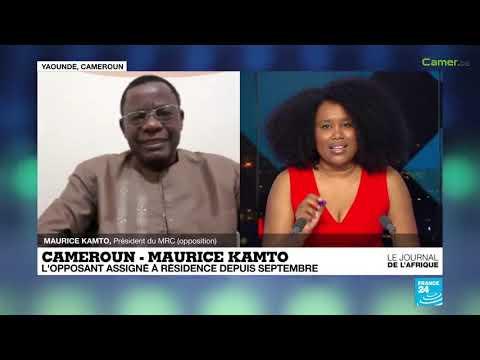 Maurice Kamto sur France 24 : « Nous avons opté pour le changement dans la paix et par les urnes »