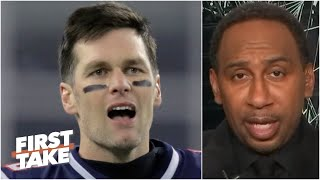 Stephen A. reacts to Tom Brady's comments on leaving the Patriots for the Bucs   First Take