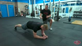 Plank to Push-up Hold Core Exercise – OL Healthy Living Quick Tip