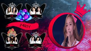 P4RTY (SNSD) ~ Into The New World (W/ Acapella Intro) (Girls & Peace ~Live~ Collab)
