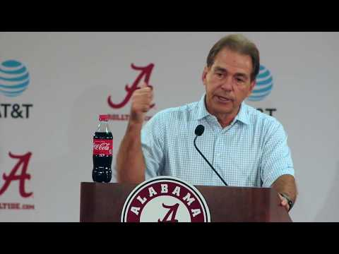 Nick Saban on Arkansas Game - Full Press Conference