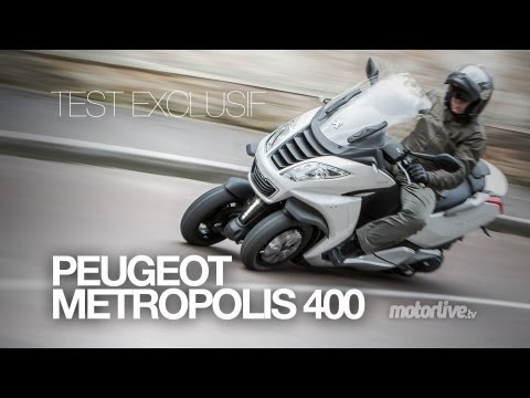 TEST EXCLUSIF | Peugeot Metropolis 400i, 3 roues made in France!