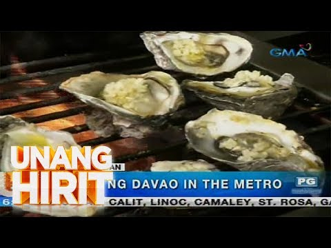 [GMA]  Unang Hirit: Sarap ng Davao in the Metro