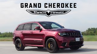 2018 Jeep Trackhawk Review - The SUV That's Quicker Than a Supercar