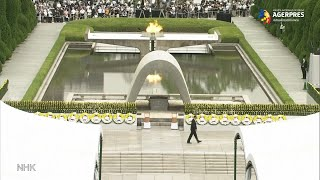 Japonia se reculege la Hiroshima, la 75 de ani de la primul atac nuclear din istorie
