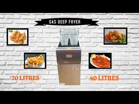 Shallow Fryer Gas