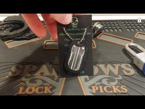 Grim Workshop Lock Pick Dog Tag Set Review